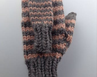 Mommy and Me Mittens- Angora Mittens/ Baby Mittens/ Baby Announcement/ Soft Mittens