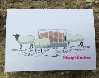 SHEEP // Christmas Card