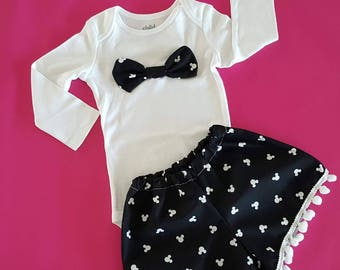 Minnie Mouse Disney Outfit Set for girl