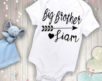 Personalized Big Brother with Name Outfit