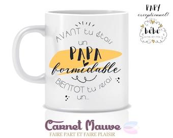 "Mug ""great Grandpa"" pregnancy announcement"