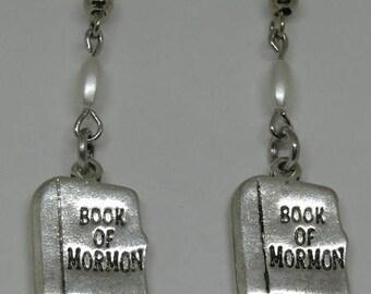 Book of Mormon Earrings E84