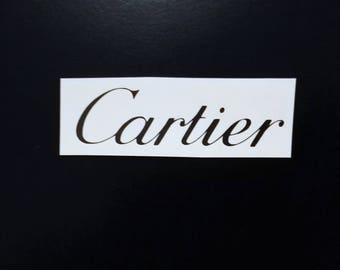 10 Cartier Stickers Cartier Decal Cartier Party Stickers Envelope seals Fashion Party Decor