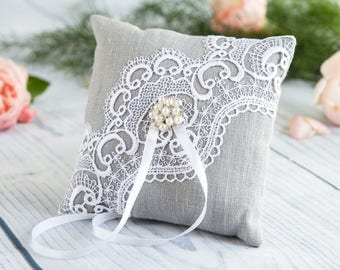 Wedding Pillow Wedding Ring Pillow Ring Bearer Pillow Wedding Ring Pillow Ring & Wedding ring pillow   Etsy pillowsntoast.com