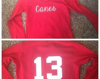Personalized  Football Sports Team Shirt