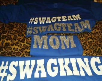 Swagking birthday entourage shirts