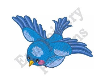 Bluebird - Machine Embroidery Design
