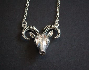 Ram's head necklace occult