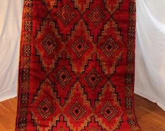 Moroccan Red King Rug