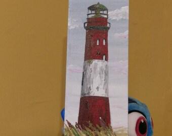 Lighthouse painting boys room decor nautical boat marine decoration art