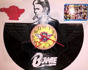 Vinyl Record Wall Clock DAVID BOWIE