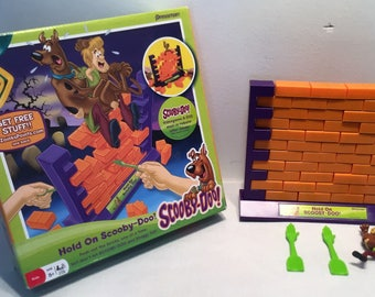 Hold On Scooby-doo Board Game - Pressman Toys Great Condition FREE SHIPPING
