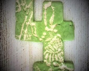 Handmade ceramic numbers