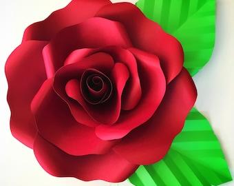SVG File for Open Rose 2