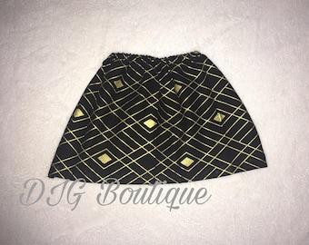 Toddler fashion skirt