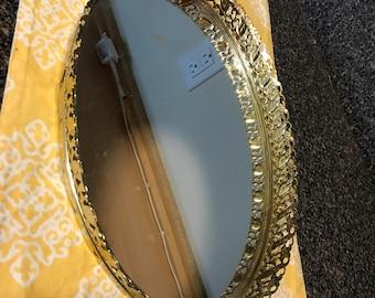 Vintage Vanity Perfume Tray/Mirror