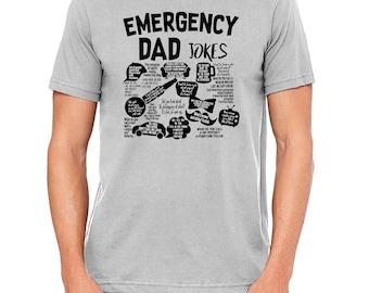 Emergency Dad Jokes Father's Day Birthday Gift Tshirt