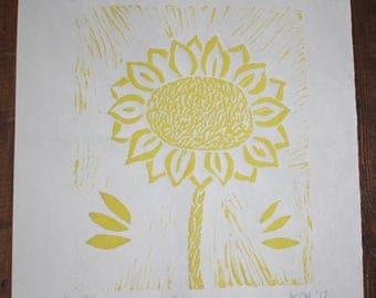Sunflower Print - Yellow 1