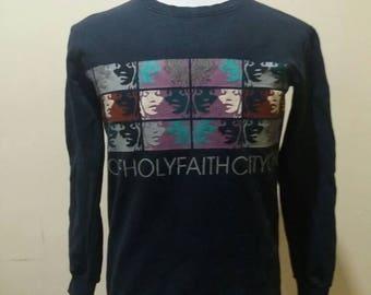 Vintage city of holy faith like Hysteric glamour rare sweatshirt