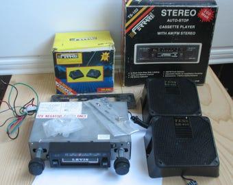 Car radio Stereo receiver Am Fm Car Radio Cassette Cassette player Car radio cassette recorder