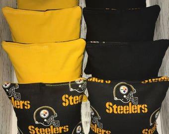 Steelers Corn hole bags