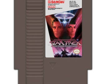 Star Trek V The Final Frontier - NES game english