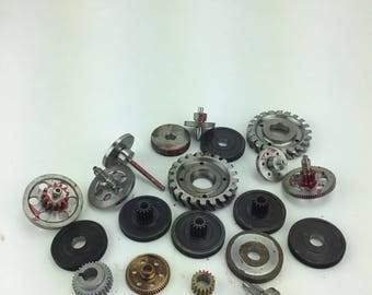 Industrial gears steam punk arts craft machine metal