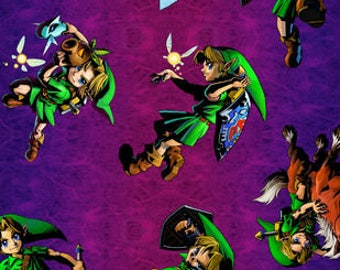 Nintendo The Legend of Zelda Cotton fabric