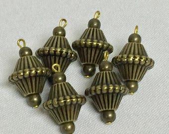 50 pcsAntique Brass beautiful Pendant