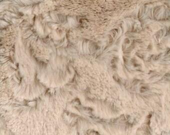 Beige Dynasty Soft Cuddle - Faux Fur