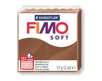 Polymer clay Fimo Soft 57 g - Caramel number - 7