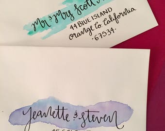Jeanette/ Hand Addressed Envelopes