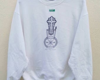 Rare!! benetton sweatshirt
