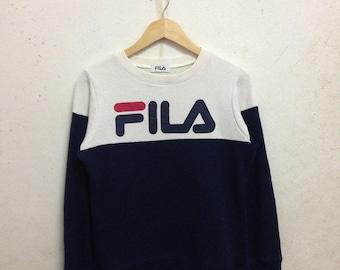 Vintage 90's Fila Sweatshirts Size L