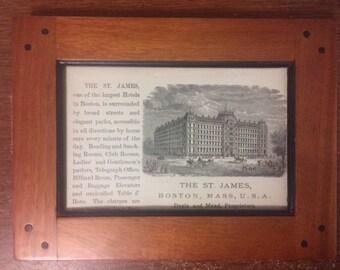 St. James Hotel, Boston
