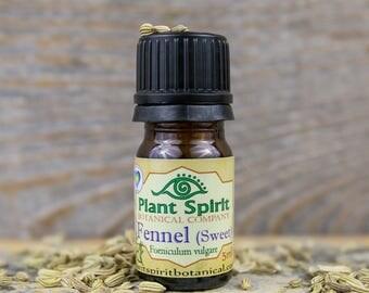 Organic Fennel Essential Oil | 5 ml | Foeniculum vulgare | India