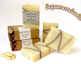 Handmade soap, handcraft soap, artisan soap, artisan soap, hand made soap, Eklektika, Sapomandorla, all natural, soap design
