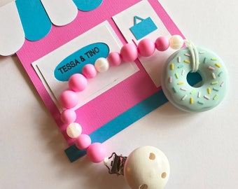 Silicone Donut Teething Ring      Teething Toy