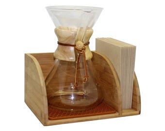 Chemex Caddy and Drying Mat