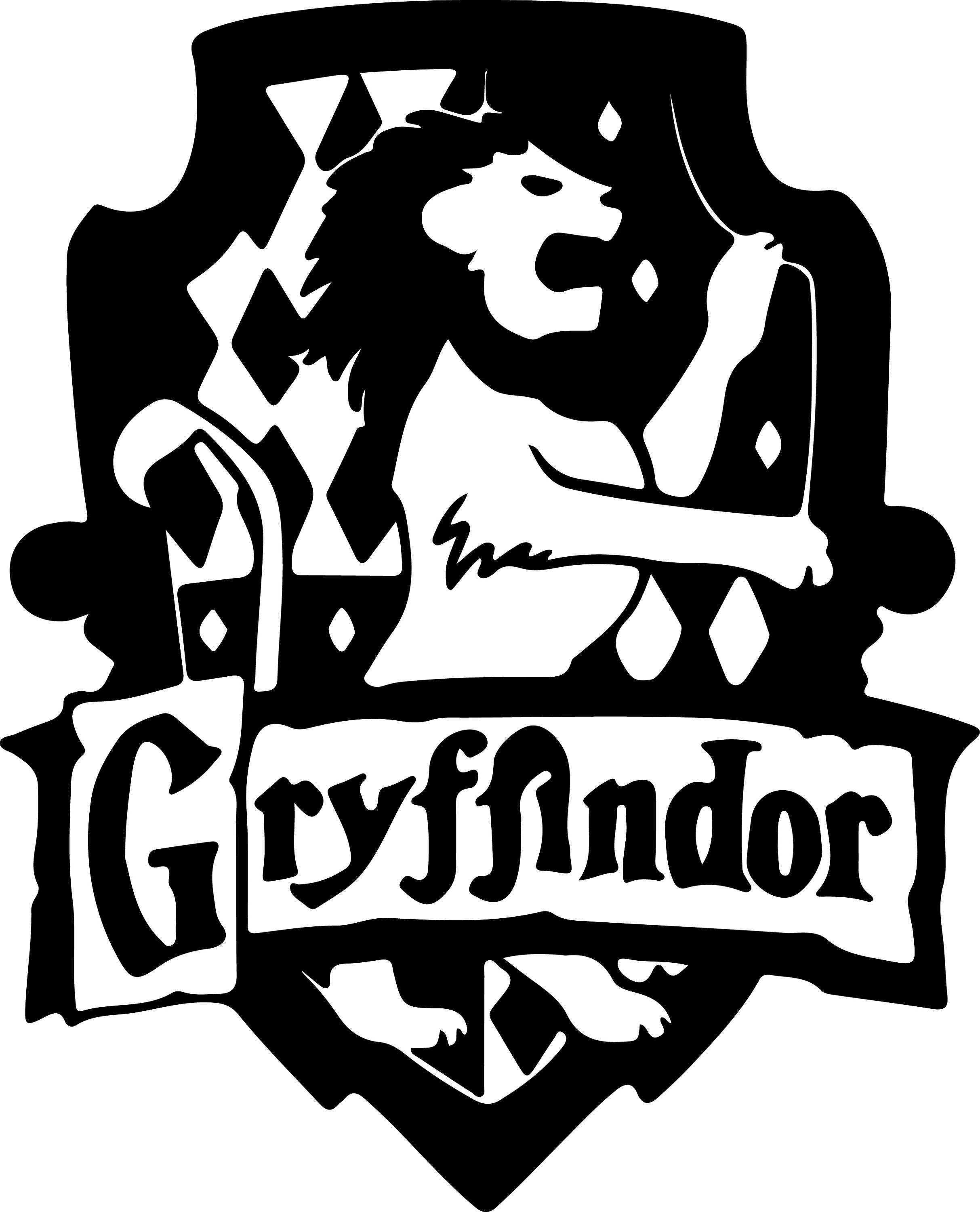 Download Harry Potter Gryffindor Svg Files Silhouettes Dxf Files