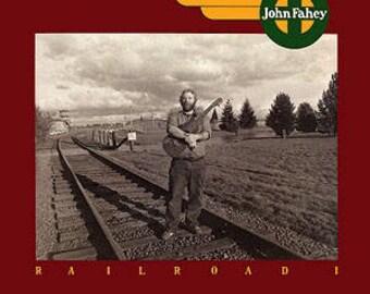 John Fahey Framed Vinyl - Railroad I 1983 (Original Release)