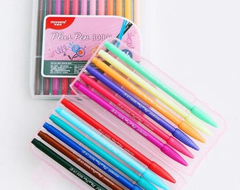 Fine Lined Coloured Pens