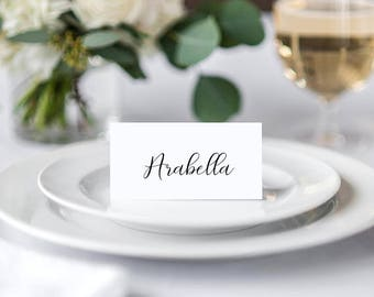Place Cards Wedding and Events PRINTABLE