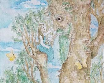 Tree Lover Illustration