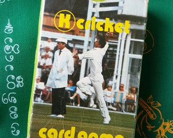 Cricket Card Game Australia 1980s