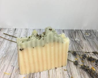 WHOLESALE ONLY Bee Free Lemongrass Spearmint Soap - Vegan Soap, Detox Soap, Dry Skin Soap, Acne Soap, Charcoal Soap, Handcrafted Soap