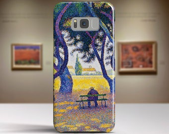 """Paul Signac, """"Place des Lices"""". Samsung Galaxy S6 Case LG G5 case Huawei P9 Case Galaxy A5 2017 Case and more. Art phone cases."""