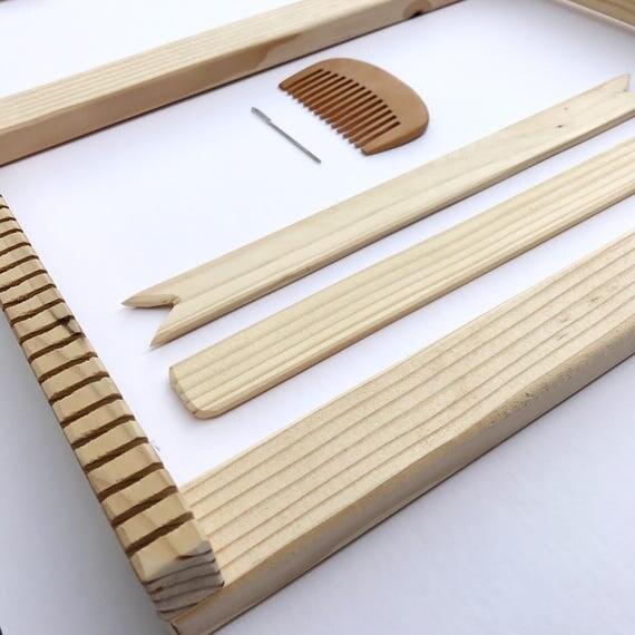 Weaving Kit / Weaving Loom / Frame Loom Kit / Pine / The