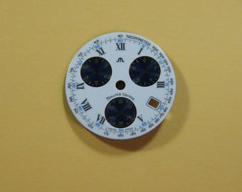 Maurice Lacroix Swiss made Chronograph Watch dial