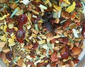 Unusual citrus herbal chai tea. Perfect gift for tea lover/foodie